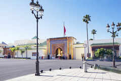 Morocco. Rabat. Royal Palace. Royalty Free Stock Photo
