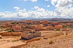 Morocco roses valley Stock Photography