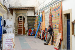 Morocco rugs Stock Photos