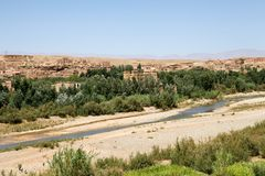 Morocco rural landscape Stock Photos