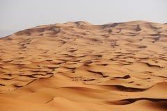 Morocco. Sand dunes of Sahara desert Stock Images