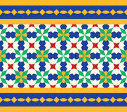 Morocco Seamless Border. Traditional Islamic Design. Royalty Free Stock Image
