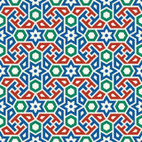 Morocco Seamless Pattern. Traditional Arabic Islamic Background. Mosque decoration element Royalty Free Stock Image