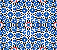 Morocco Seamless Pattern. Traditional Arabic Islamic Background. Stock Images