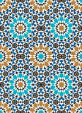 Morocco Seamless Pattern. Traditional Arabic Islamic Background. Mosque decoration element stock illustration