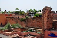 Morocco slum Royalty Free Stock Photo