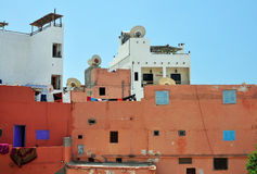 Morocco slum Royalty Free Stock Image