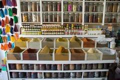 Morocco spices Stock Photos