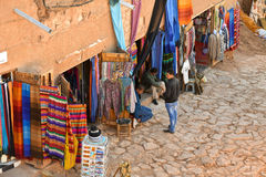 Morocco street market Royalty Free Stock Photography