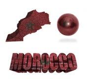 Morocco Symbols Royalty Free Stock Photo