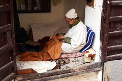 Morocco tailor Stock Photography
