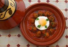 Morocco, Tajine of Kefta. Stock Image