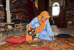 morocco tea Arkivfoto