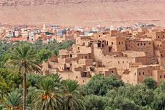 Morocco, thousand Kasbahs area Royalty Free Stock Images