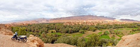 Morocco, thousand Kasbahs area Stock Photography