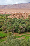Morocco, thousand Kasbahs area Royalty Free Stock Photos