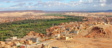Morocco, thousand Kasbahs area Royalty Free Stock Photo