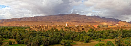 Morocco, thousand Kasbahs area Stock Images