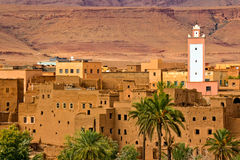 Morocco, thousand Kasbahs area Royalty Free Stock Photography