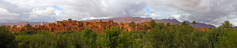Morocco, thousand Kasbahs area Stock Photos