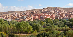 Morocco, thousand Kasbahs valley Royalty Free Stock Photo