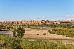 Morocco, thousand Kasbahs valley Royalty Free Stock Photos