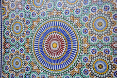 Morocco tiles Royalty Free Stock Photography