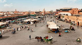 Morocco Traditional Market Royalty Free Stock Images