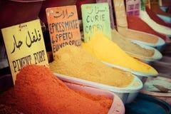 Morocco Traditional Market Stock Image