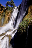 morocco vattenfall Royaltyfri Fotografi