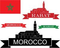 Morocco. Vector illustration (EPS 10 Stock Photos