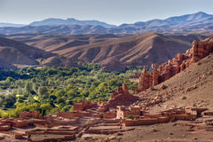 Free Morocco Village In Dades Valle Stock Photo - 3385070