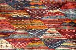 Moroccoan地毯 免版税库存图片