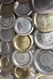 Moroccon Metaltellersegmente für Verkauf Lizenzfreies Stockbild