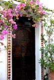 Moroccoo-Tür Stockfoto