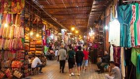 moroco de compra do marakesh do mercado dos souks foto de stock royalty free