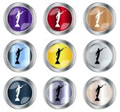 Moroni Button rond Photos stock