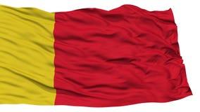 Moroni City Flag d'isolement Photo libre de droits