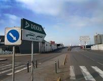 Morooco der Verkehrs-technischen Prüfung - Bild-JPEG stockbilder