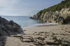 Moros beach. Royalty Free Stock Photos