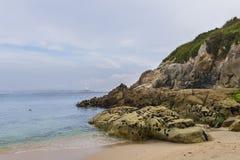 Moros beach. Royalty Free Stock Image