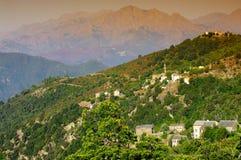 Morosaglia, corsica village Royalty Free Stock Photography