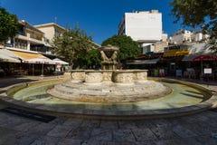 Morosini喷泉 免版税库存图片