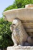 Morosini springbrunn Royaltyfria Bilder