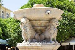 Morosini springbrunn Arkivbild