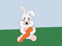 Morot och kanin Arkivbilder