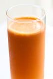 morotfruktsaft Royaltyfri Bild