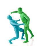 Morph Fight Royalty Free Stock Photo