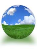 morphed planet för jord 3d liggande
