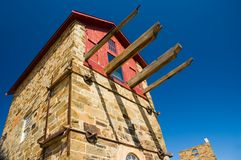 Morphetts Enginehouse. In Burra, South Australia royalty free stock images
